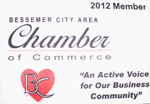DellPest Exterminating is a member of the Bessemer City Chamber of Commerce